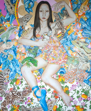 Hisako 2 | oil on canvas | 185 x 145cm | 2010